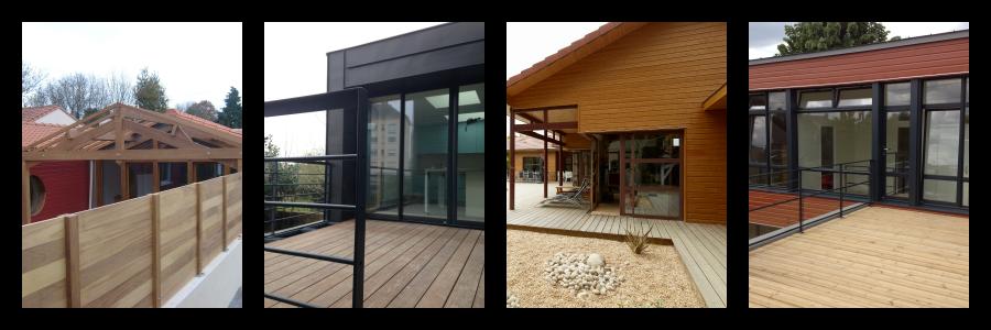 Des aménagements extérieurs en bois