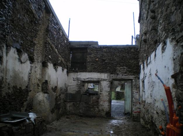 Avant la rénovation d'une maison à Monnières (44)