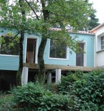 Une extension bois avec bardage à Clisson