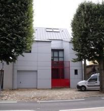Maison à ossature bois à Nantes (extérieur)