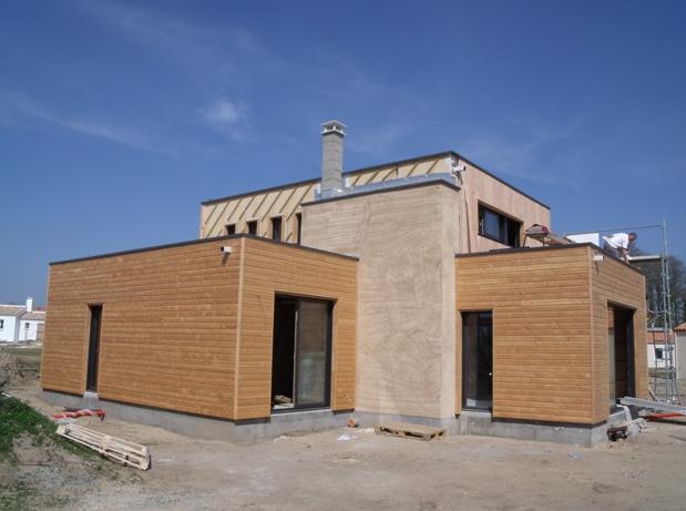 Maison à ossature bois à Machecoul